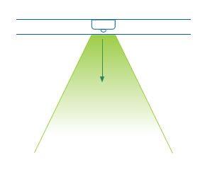 Instalación de luminaria led en superficie