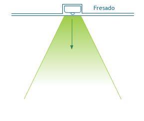 Instalación de luminaria led empotrada