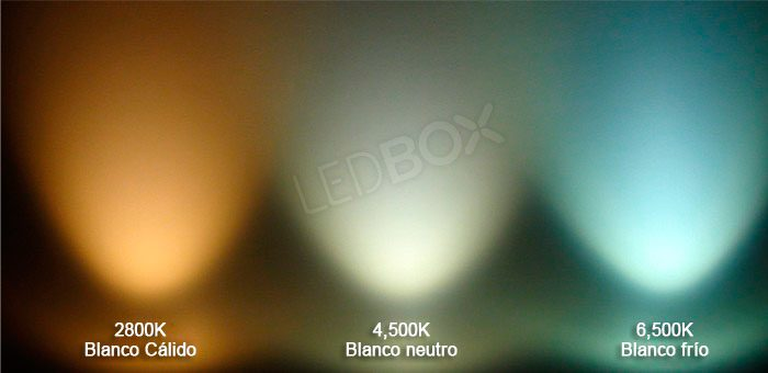 Temperatura de color en las luminarias LED