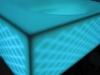 Decoración de baños retroiluminados con LED y fabricados con KRION
