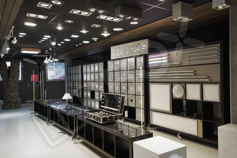 Showroom ledbox con todos sus productos de iluminaci n led for Iluminacion de interiores led