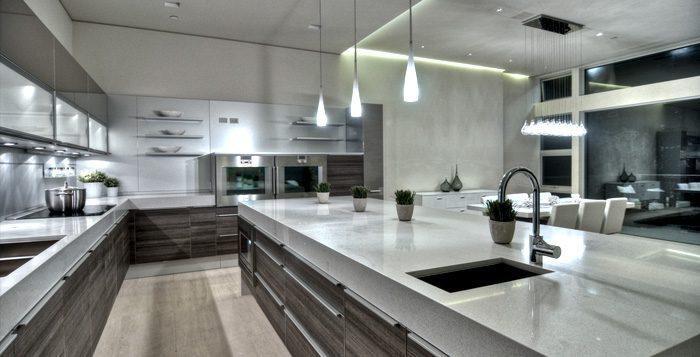 iluminación led cocinas