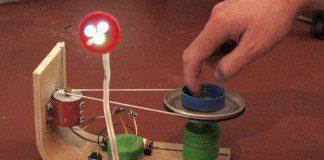 Lámpara led ecológica