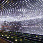 Tunel iluminación led