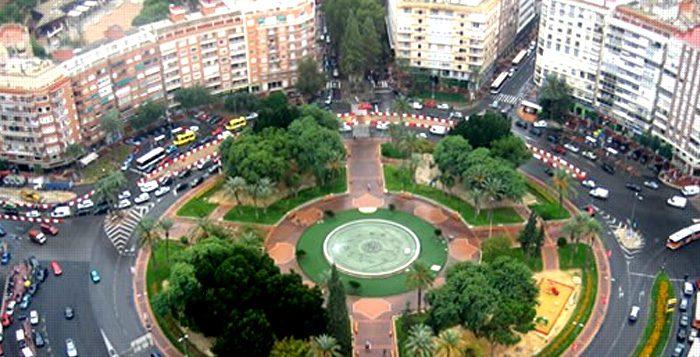 led murcia plaza circular
