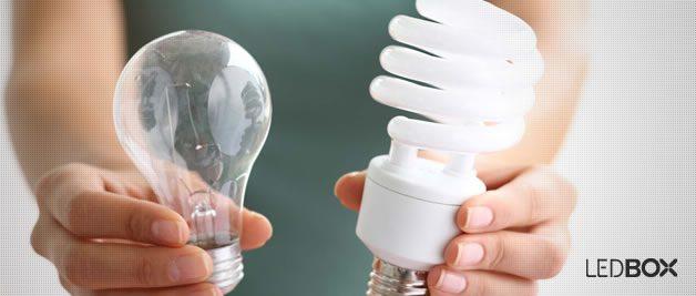 Diferencias entre los diferentes tipos de lámparas no LED