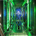 Iluminacion led google data center
