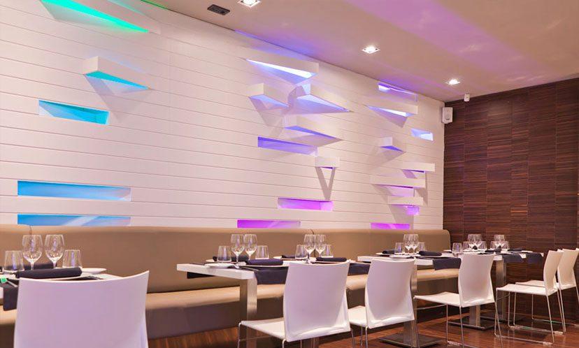 Iluminación led para bares