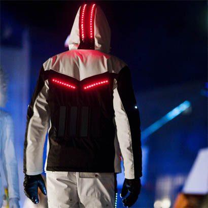 chaqueta led