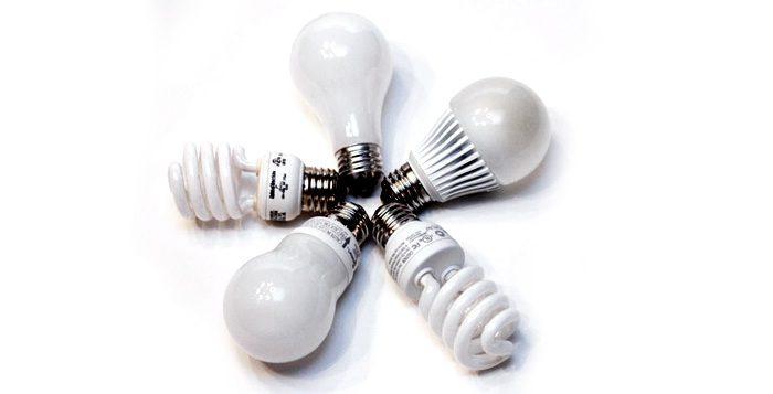 Tabla de equivalencias LED
