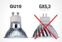 Cambio y ventajas de las bombillas GU10 respecto a las GX5,3