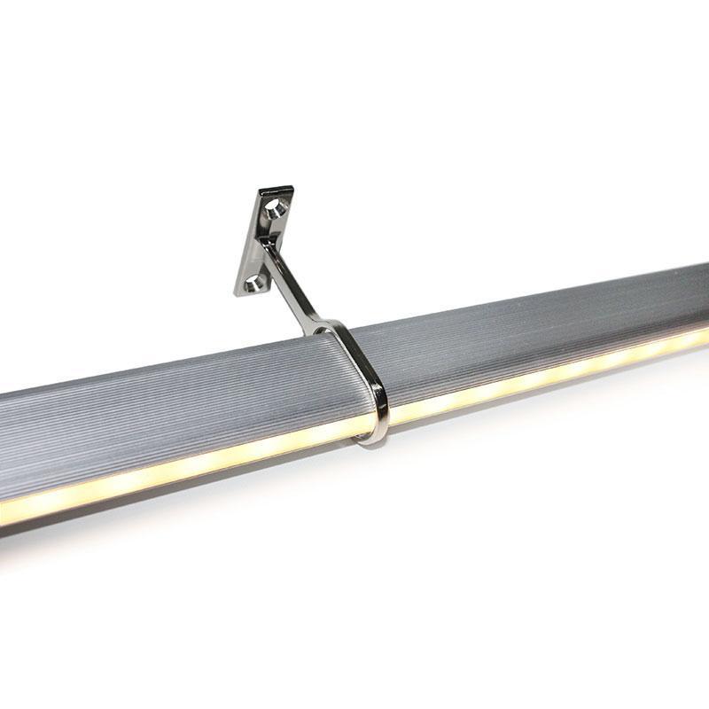Instalación de luminaria en superficie