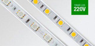 Tiras Led 220V. Diferencias entre SMD3528, SMD3014 y SMD5050