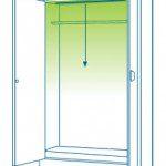 1. Instalación de iluminación LED en armarios - Proyección desde arriba