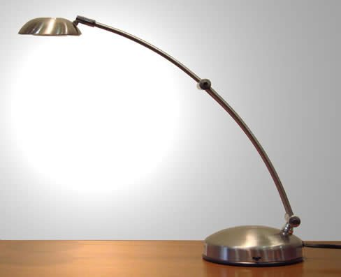 Lámpara con bombillas tipo bi-pin