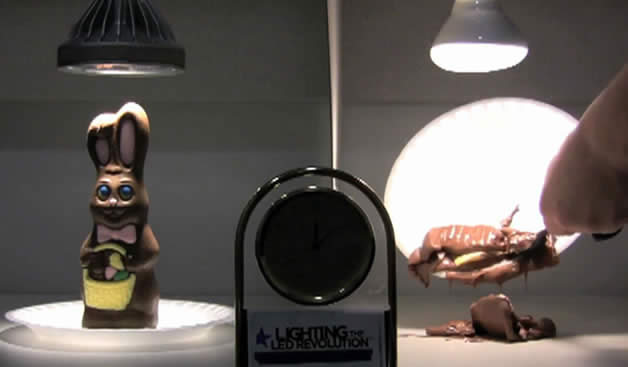 Iluminación LED vs incandescencia: temperatura