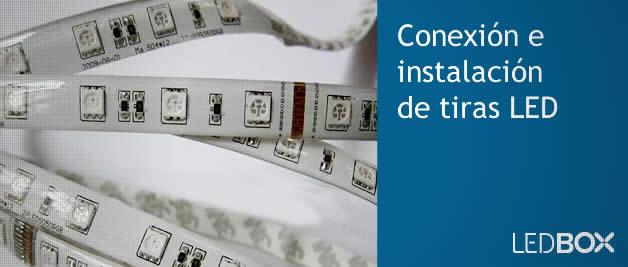 Conector flexible para tiras led RGB 4 pin y 10mm