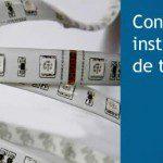 Conexión e instalación de tiras LED RGB y Monocolor