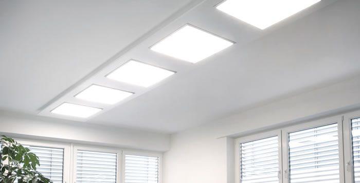 Aplicaciones del panel LED