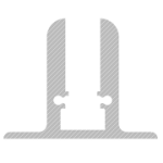 perfil expo para tira led