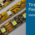 tiras LED flexible SMD 3528 y SDM 5050