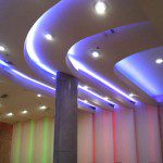 Decoración interior con tiras led