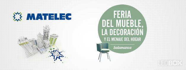 iluminación led en MATELEC y Feria del mueble y la decoración