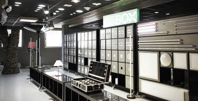 Showroom iluminacion Led Ledbox