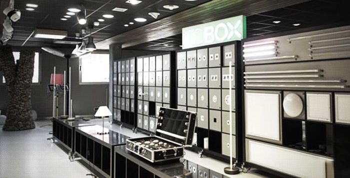 Showroom Ledbox de iluminación Led