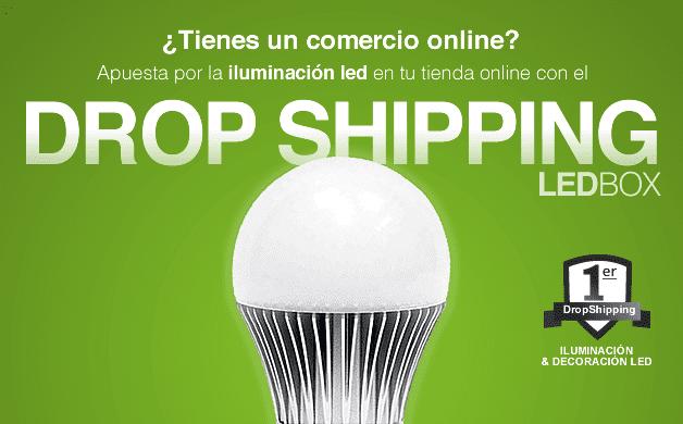 Drop Ship de iluminación y decoración led
