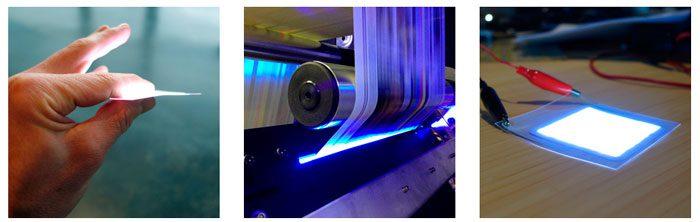 Proyecto para crear luces LED del grosor del papel