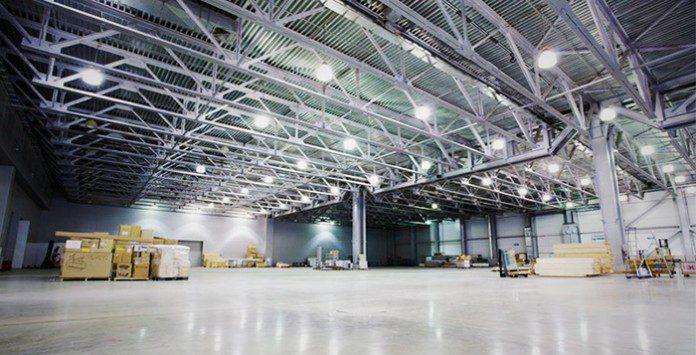 Guía de Iluminación de almacenes y zonas industriales