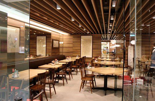 Cafeteria moderna led