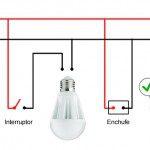 Esquema instalacion correcta led