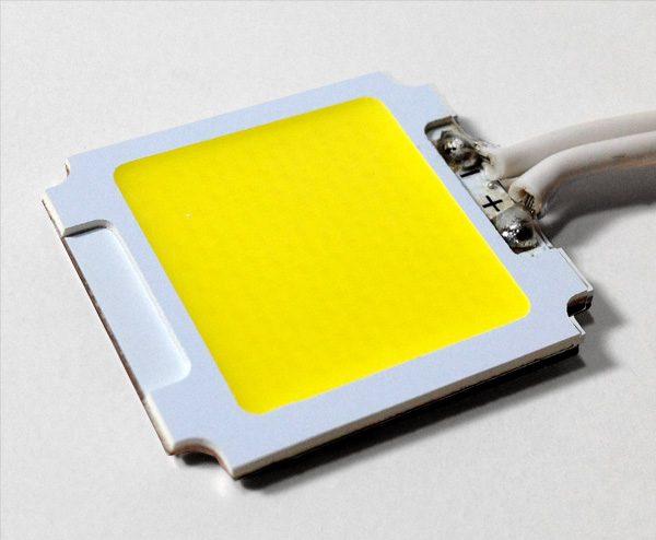 El chip en las luminarias LED