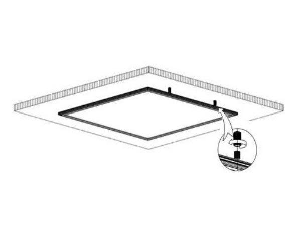Montaje panel led de superficie ledbox news for Paneles led de superficie