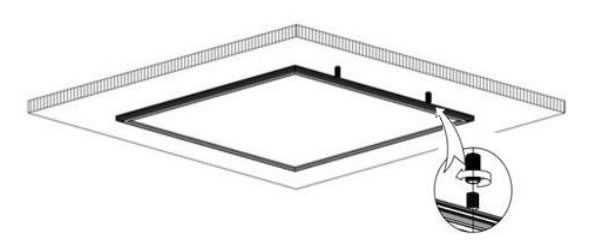 Instalación de paneles led de superficie