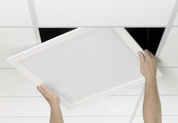 Montaje paneles led