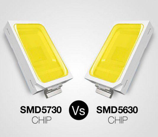 Comparativa chip SMD5730 y SMD5630