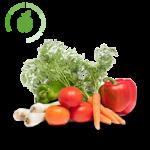 iluminacion led frutas y verduras