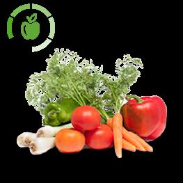 Iluminación led para frutas y verduras