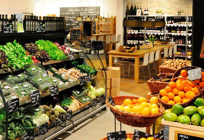 Iluminación led en supermercados