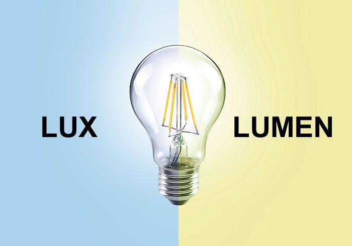 Diferencias entre lumens y luxes   Ledbox News
