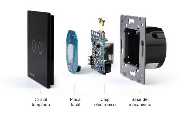 Mecanismos electrónicos Livolo