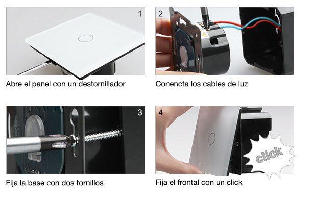 Instalación mecanismos Livolo