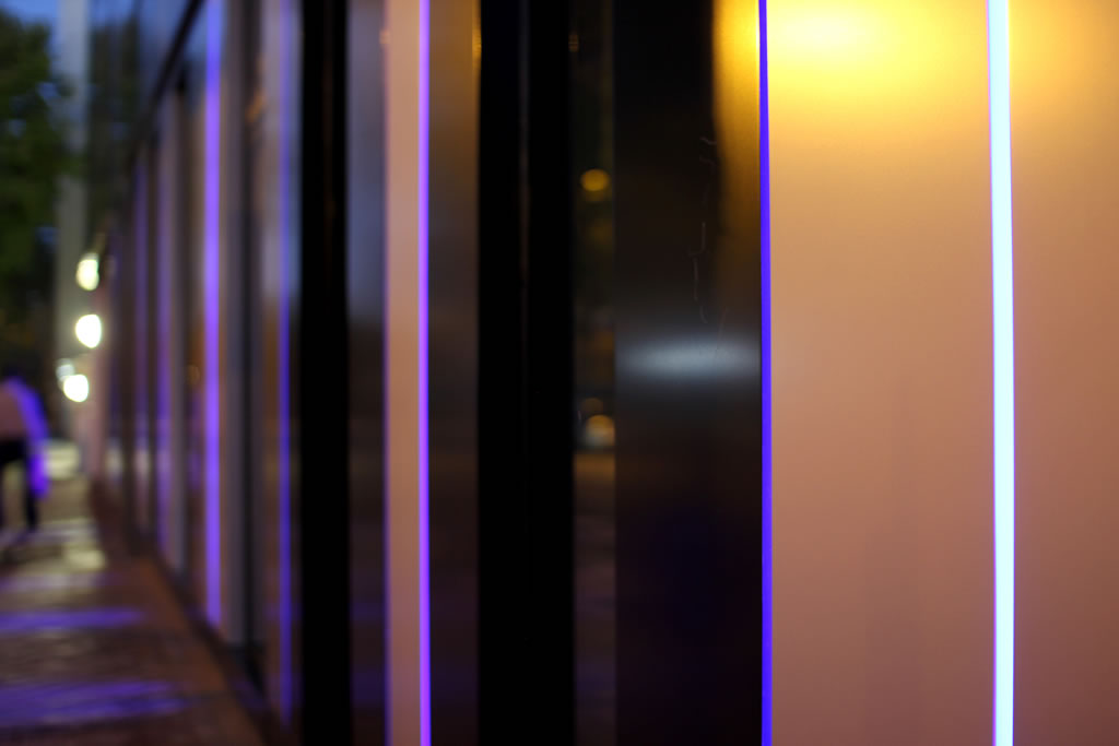 Estudio de iluminación técnica LED - Exterior. Calle Cronos