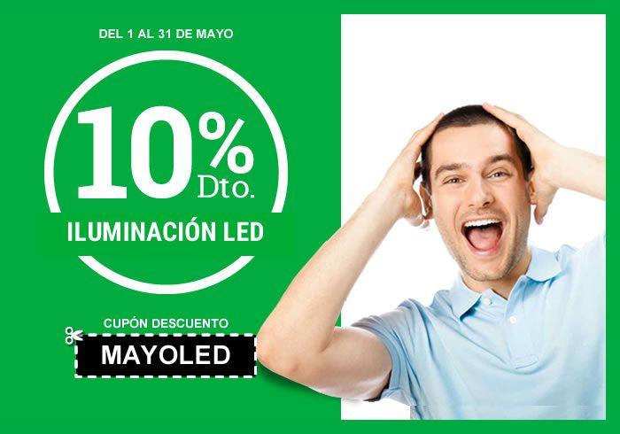 10% de descuento en iluminación led