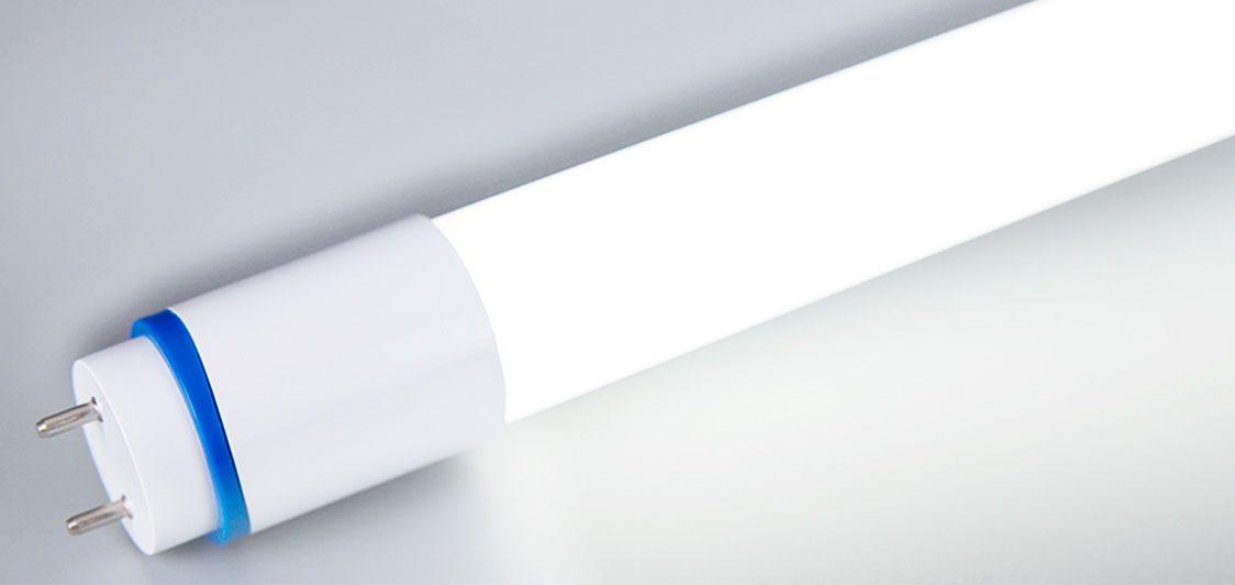 Los tubos led de nano plástico