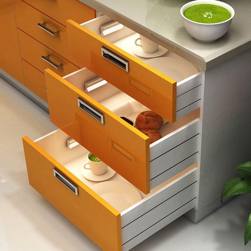 Iluminacion led para cajones de cocina ledbox news for Cajones para cocina