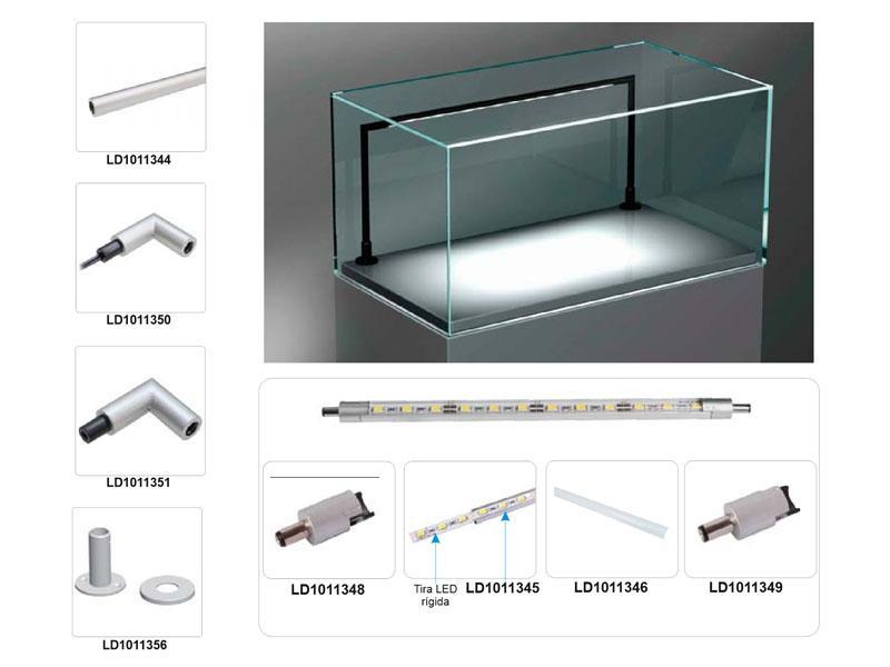 Iluminación LED para Vitrinas a Medida